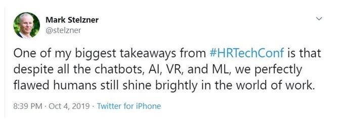 HR Tech - tweet