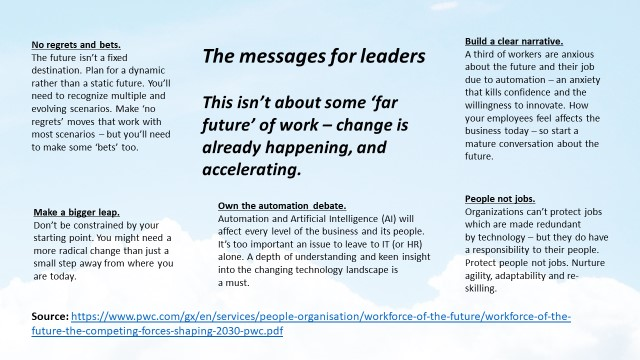 PwC Future of Work Summary